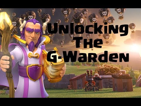 Clash of clans- Unlocking the Grand Warden With my Engineer Base!
