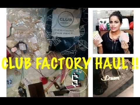 ✅The Club Factory Haul ||TheLifeSheLoved|| Sana K | Part - 1