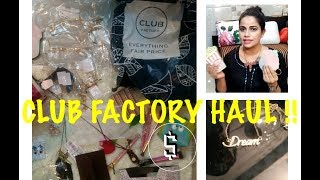 The Club Factory Haul ||TheLifeSheLoved|| Sana K | Part - 1