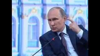 Путин уже не отрицает, что на Донбассе есть российские войска