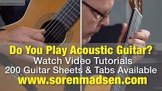 Guitar Sheets & Tabs + Tutorial Videos at SorenMadsen.com