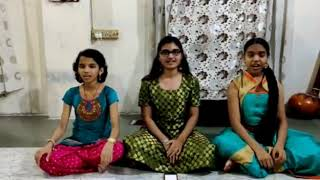 Annapurna stotra | Composed by Dr.Rasika Phadke | Sung by Sakshi , Riddhi , Kirthi