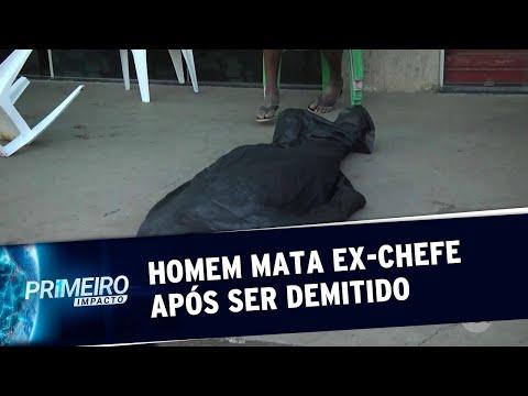 Homem Não Aceita Demissão, Mata Ex-chefe E Comete Suicídio No Pará | Primeiro Impacto (13/08/19)
