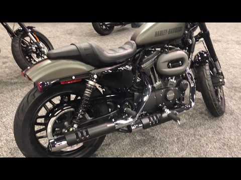 2018 Roadster Industrial Gray & Black Denim | San Diego Harley-Davidson