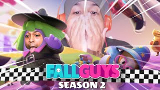 THESE NEW LEVELS ARE WAY TOO HARD!! [FALL GUYS] [SEASON 2]