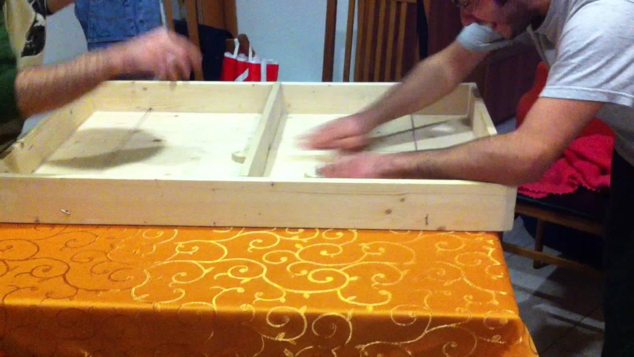 Gioco da tavolo in legno 2 partita youtube - Gioco da tavolo non t arrabbiare ...