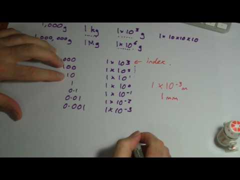 GCSE Biology - Orders of magnitude