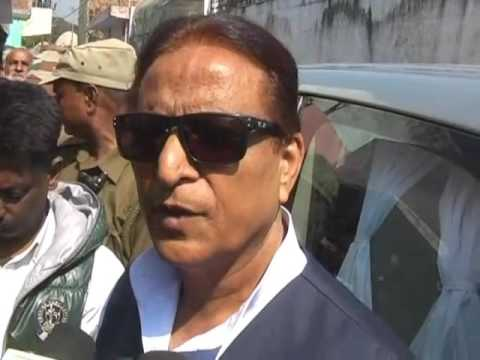 Azam khan attack on Amar singh and PM Narendra Modi in rampur
