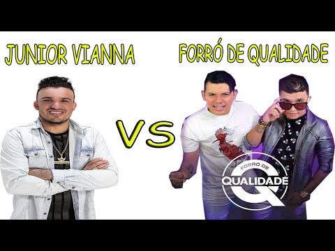 JUNIOR VIANNA VS FORRÓ DE QUALIDADE- NA ESCOLA