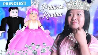 MY MORNING ROUTINE AS A PRINCESS IN ROYALE HIGH! - Roblox Royale High