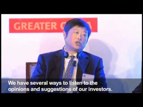 China Merchants' CFO on his approach to IR (with English subtitles)
