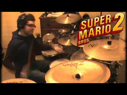 Vadrum Meets Super Mario Bros 2 (Drum Video)