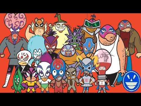 Top 10: Personajes de Mucha Lucha que se parecen a luchadores reales