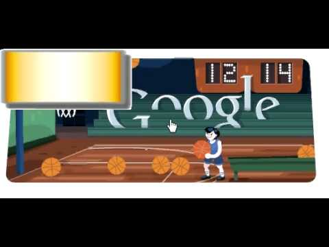 efa3014199ff Google Doodle Olympic games Basketball 2012 3 stars 36 scores full ...