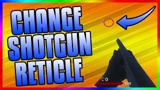 HOW TO CHANGE YOUR FIRST PERSON SHOTGUN RETICLE IN H1Z1 KOTK!