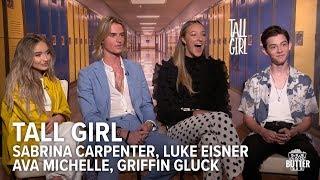 Tall Girl: Fun Cast Interview | Sabrina Carpenter, Luke Eisner, Ava Michelle & Griffin Gluck