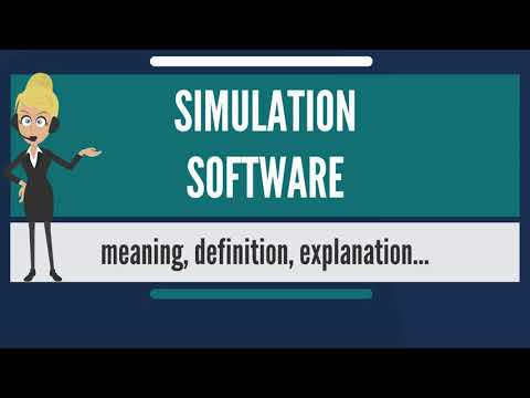 What is SIMULATION SOFTWARE? What does SIMULATION SOFTWARE m