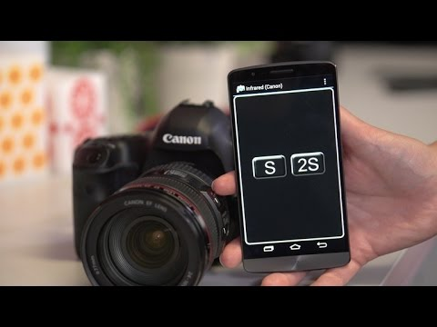 CNET How To - Use your Android as a dSLR remote