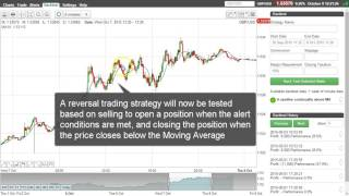 Reversal Trading Strategy based on consecutive Candles above the Moving Average