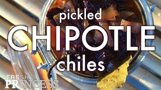 Sweet Hot Pickled Chipotle Chiles  |  Fresh P