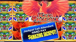 HIGH LIMIT SLOT PLAY ★ SUPER RED PHOENIX ➜ LOWERED THE BET AND JACKPOT!