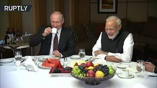 Lavish Sochi tour: Putin & Modi meet for first informal summit
