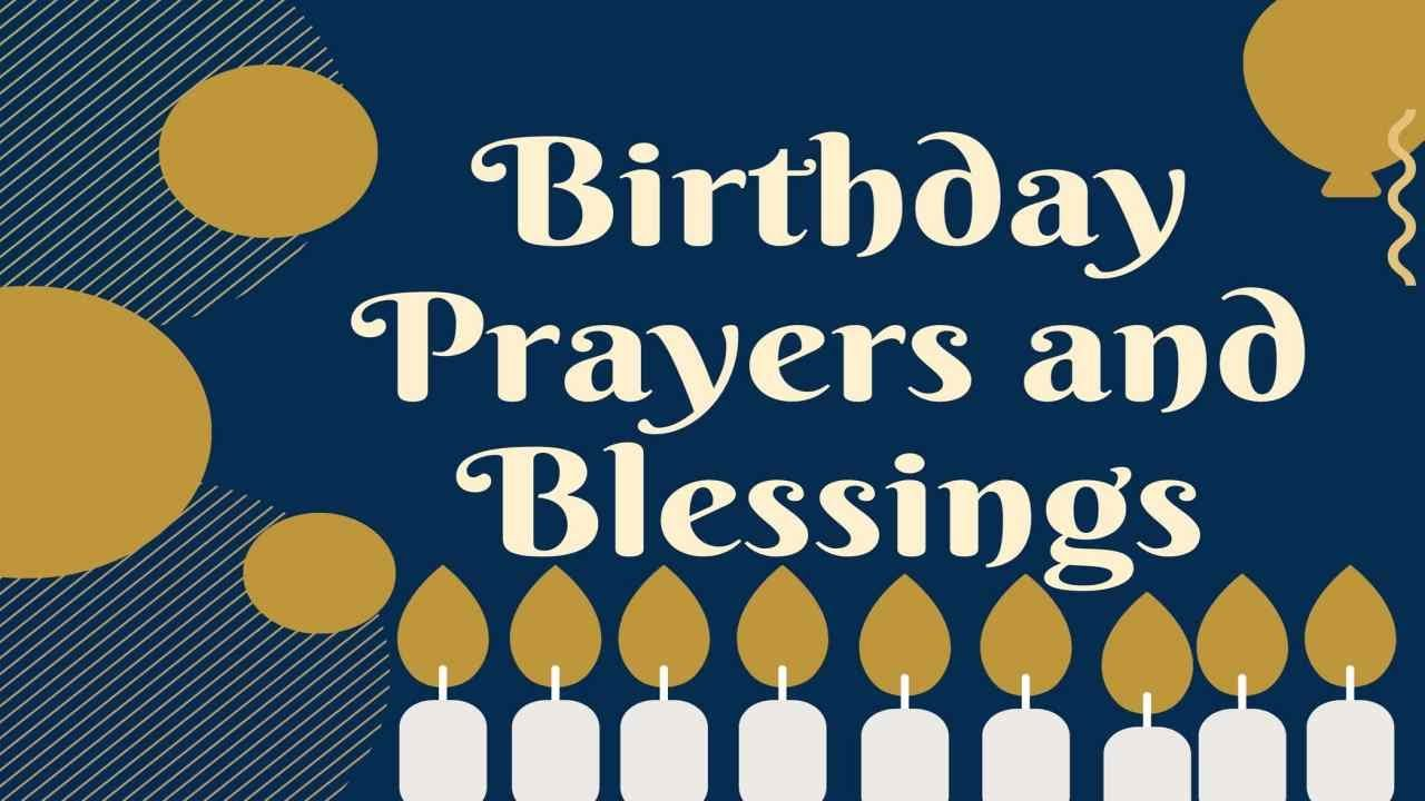 Powerful Birthday Prayers And Blessings Youtube