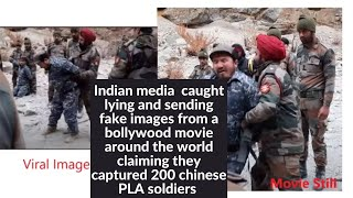 Indian Media Falsely Shared Indian Army Capturing PLA Soldiers was taken from Bollywood movie