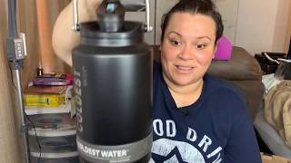 The Coldest Water, Their Biggest Water Jug! | One Gallon Growler |