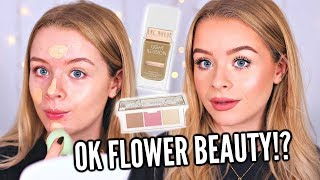 TESTING FLOWER BEAUTY!! NEW BRAND IN THE UK! | sophdoesnails