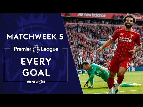 Every goal from Premier League Matchweek 5 | NBC Sports