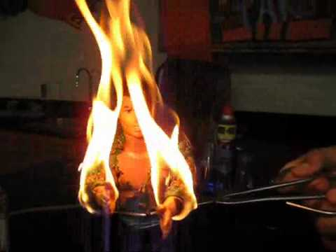 CHEMISTRY LAB CATCHES FIRE!!! - YouTube