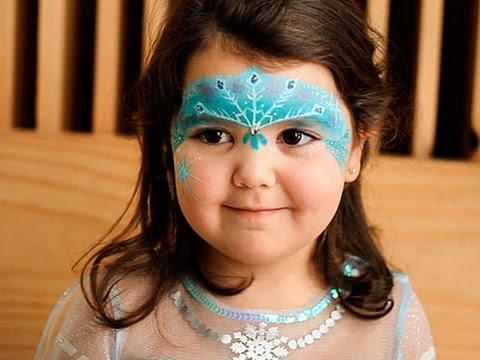 Maquillaje para niñas de Frozen