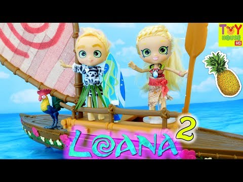 Pineapple LOANA & ToMaui, DemiShoppie of the Wind and Surf  Moana PARODY 2