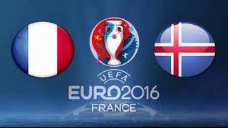UEFA EURO 2016: Frankreich gegen Island - Die besten Momente [Viertelfinale/HD]