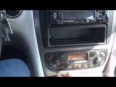 W203 climate control panel change