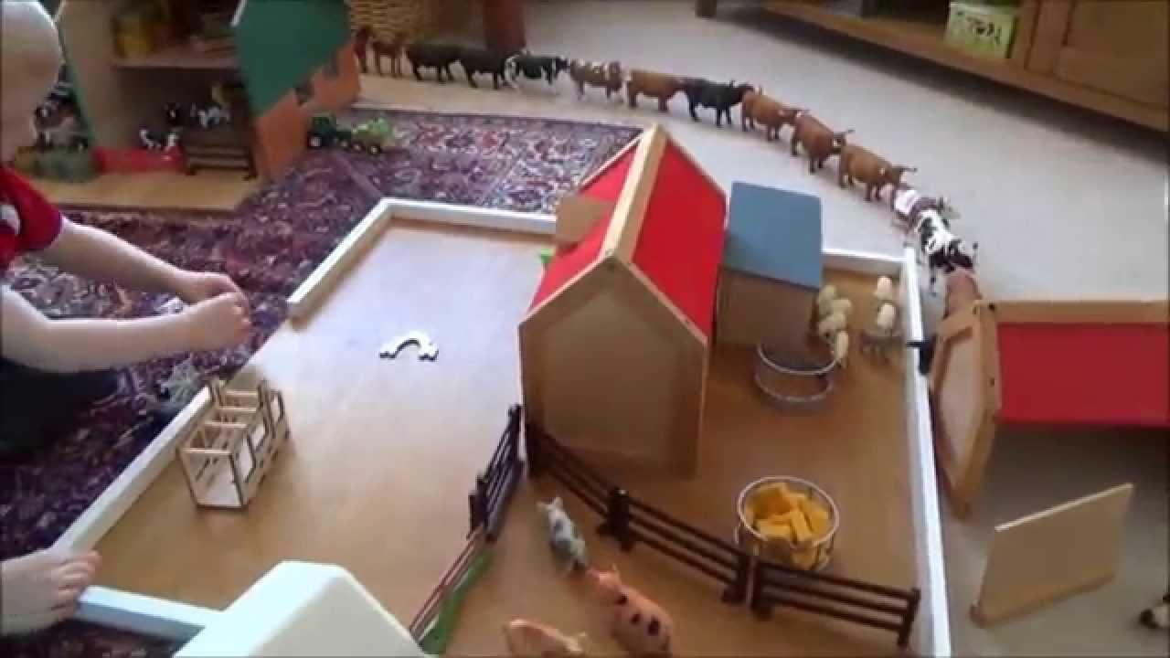 my boys and their xmas farm toys youtube - Christmas Toys For Toddlers