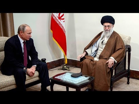 Russia's Putin in Iran for talks, offers support for nuclear deal