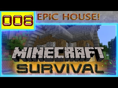Epic minecraft adventure minecraft survival 1 8 1 8 7 for Epic house music