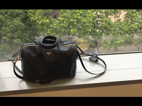 Whats In My Work Bag Fossil Sydney Satchel And Planner Sneak K