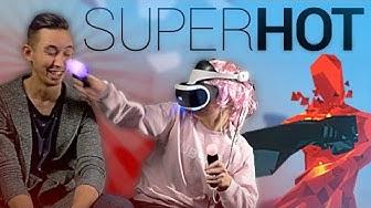 VR -PELIT ON VAARALLISIA  - SUPERHOT