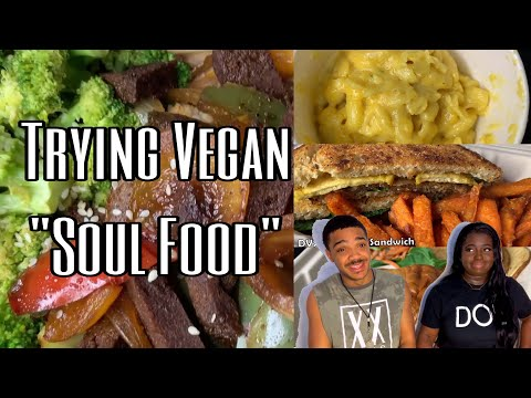 WE TRIED VEGAN SOUL FOOD FOR THE FIRST TIME | DETROIT VEGAN SOUL | MIKE & MACE