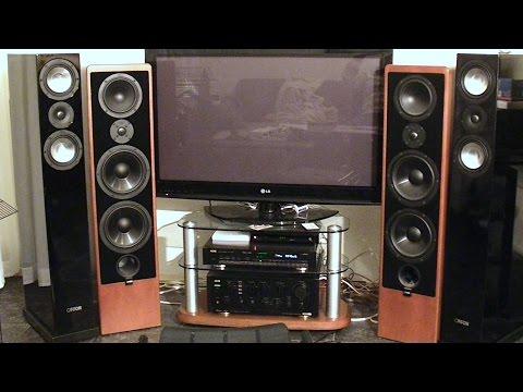 Canton Ergo RC-L VS Canton karat 709 DC soundtest
