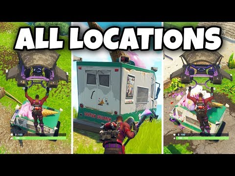 Fortnite: Visit 5 Different Ice Cream Truck Locations (Fortnite Battle Royale) - 동영상
