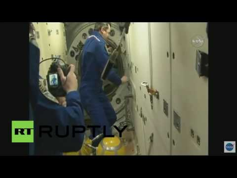 Space: Expedition 48 team celebrates as Soyuz delivers new set of cosmonauts to ISS