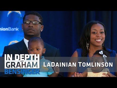 "LaDainian Tomlinson on ""drafting"" his future wife"