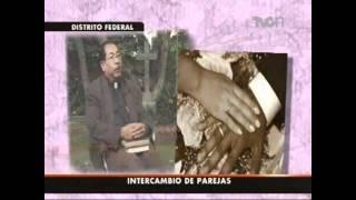 Repeat youtube video intercambio de parejas entrevista a Mayra y David en TVC noticias