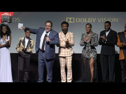 THE LION KING  Donald Glover Chiwetel Ejiofor Beyoncé and the cast  world première  HOT CORN