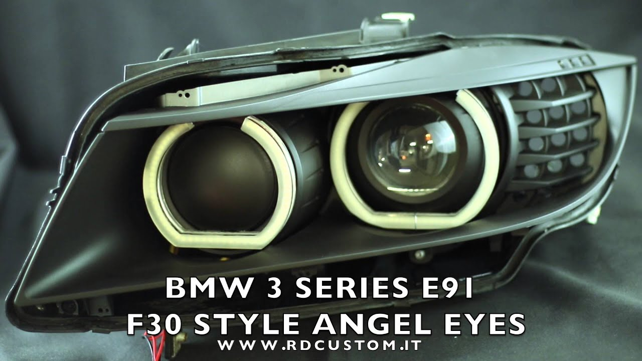 Bmw e38 angel eyes installation-8011