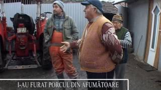 I-AU FURAT PORCUL DIN AFUMĂTOARE